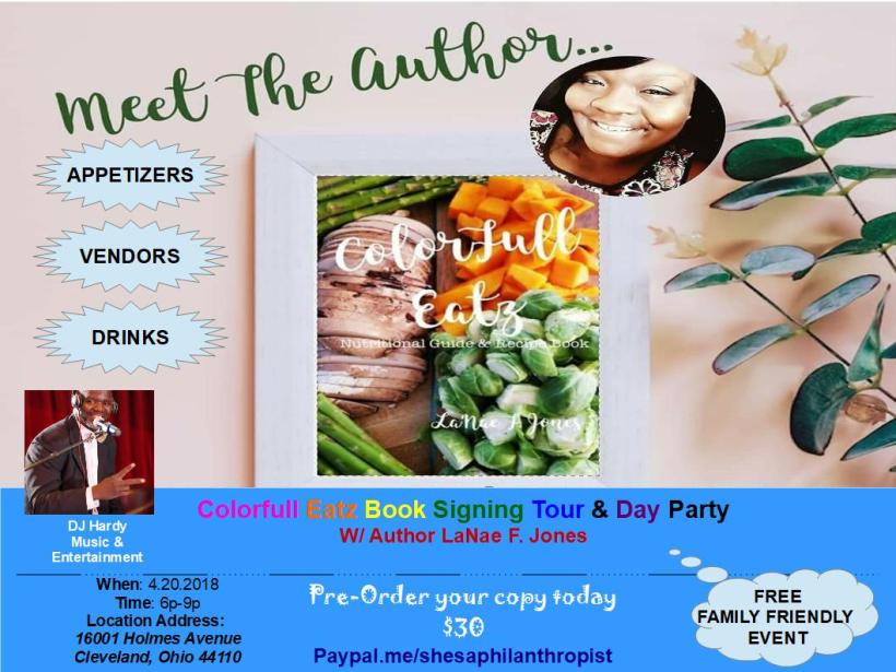 meet the author w LaNae